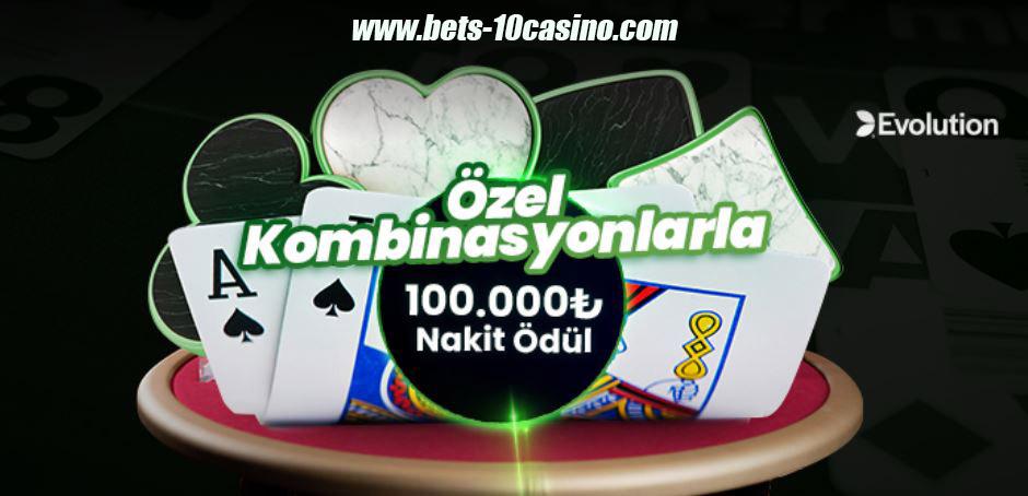 574Bets10-575Bets10 - Binlerce TL Bonus ve 100.000TL Kazanç Blackjack Masalarında