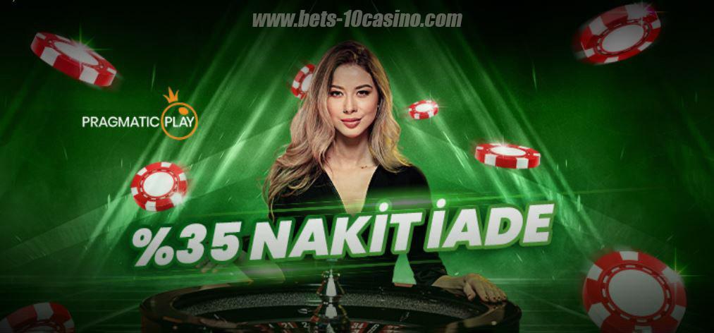 581Bets10.com - Pragmatic Canlı Casino Oyunlarında Nakit İade